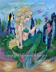 Art: Jewels of the Sea by Artist Ronne P Barton