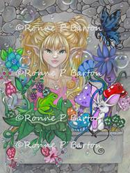 Art: The Magic Window by Artist Ronne P Barton