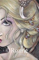 Art: Gothic Elegance OSWOA™ by Artist Ronne P Barton