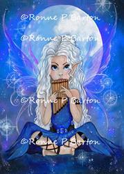 Art: Moon Song by Artist Ronne P Barton