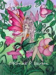 Art: Mandy from the Flower Fairies series by Artist Ronne P Barton