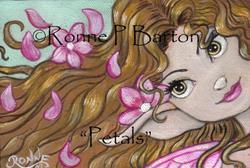 Art: Petals by Artist Ronne P Barton