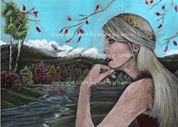 Art: Demeter by Artist Ronne P Barton