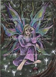 Art: Titania by Artist Ronne P Barton
