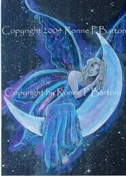 Art: Keeper of the Moonlight II by Artist Ronne P Barton