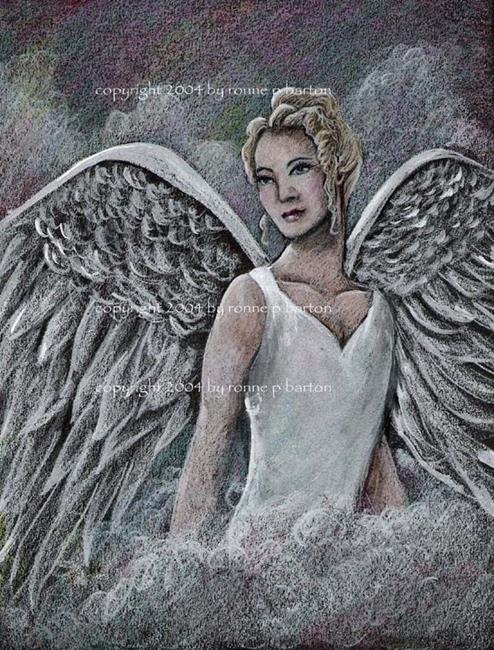 Art: Mighty Wings by Artist Ronne P Barton