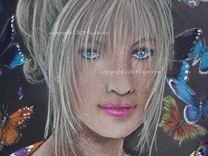 Detail Image for art Queen of the Butterflies II