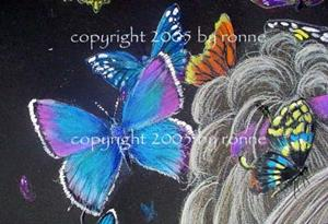 Detail Image for art Queen of the Butterflies II