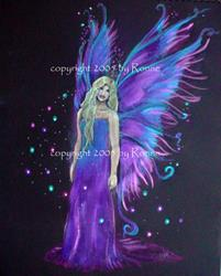 Art: Fairy Princess IV by Artist Ronne P Barton