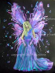 Art: Fairy Princess III by Artist Ronne P Barton