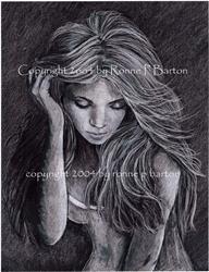 Art: Aphrodite by Artist Ronne P Barton