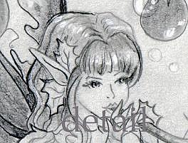 Detail Image for art Summer Fae Sketch