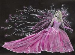 Art: Fairy Princess by Artist Ronne P Barton