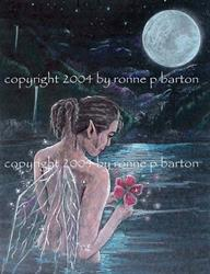Art: Hawaiian Moon by Artist Ronne P Barton