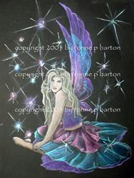 Art: Fairy Lights by Artist Ronne P Barton
