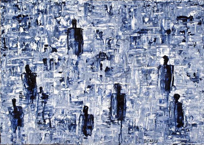 Art: Spirits of the Dead by Artist Diane G. Casey