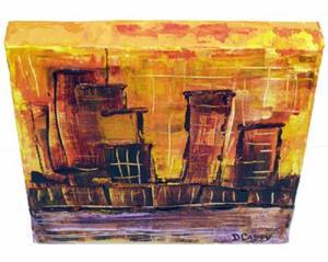 Detail Image for art 3 Martini Sunset