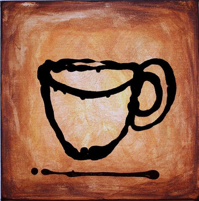 Art: Drip Coffee  by Artist Diane G. Casey