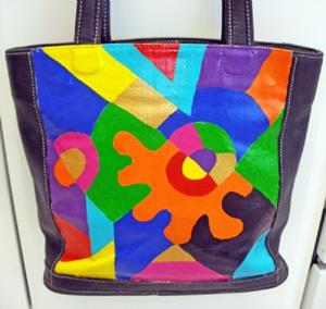 Detail Image for art Brighter Days Ahead (Painted Coach Purse)