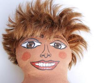 Detail Image for art Tina Turner Diva Doll
