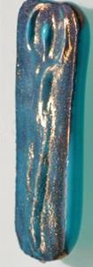 Detail Image for art Cast glass Goddess ART brooch