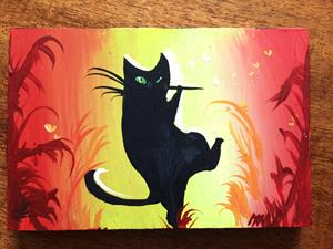 Detail Image for art Piper Cat