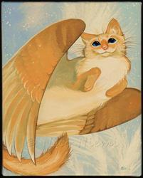 Art: Little Angel by Artist Nico Niemi