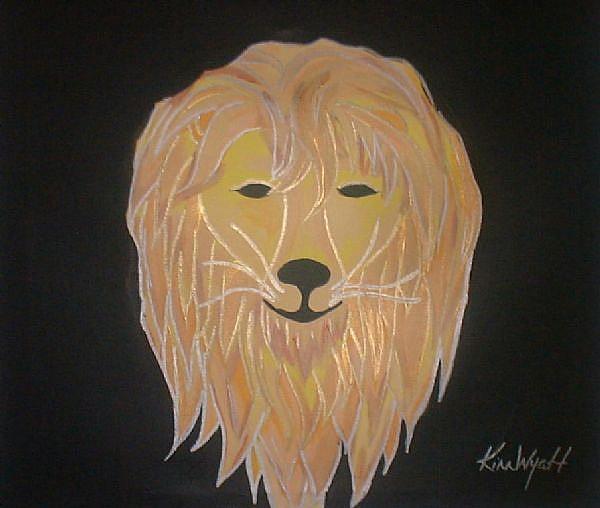 Art: Leo by Artist Kim Wyatt