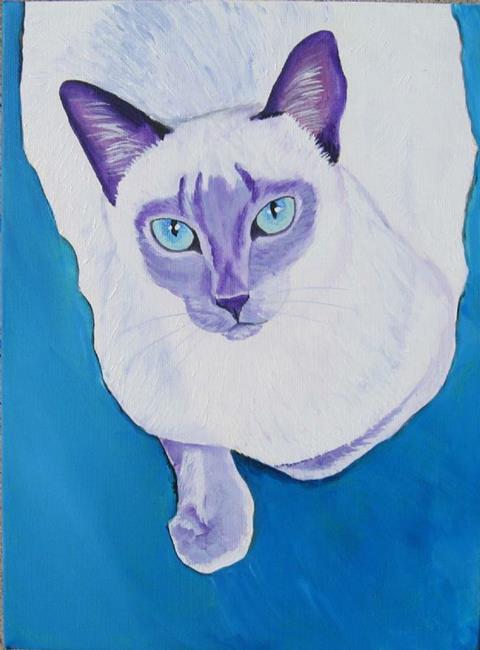 Art: Lilac Siamese by Artist Padgett Mason
