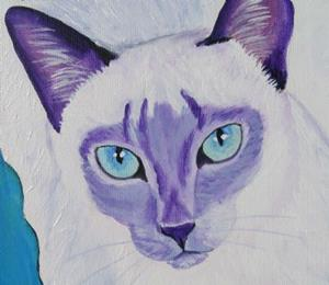 Detail Image for art Lilac Siamese