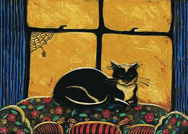 Art: Sofa Spot by Artist Naquaiya