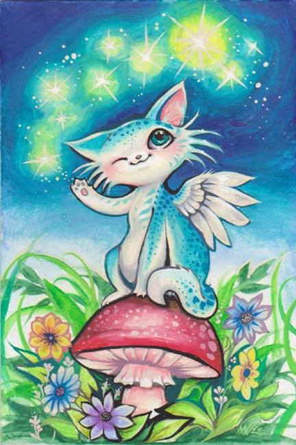 Art: Chi-Kitten Magic by Artist Nico Niemi