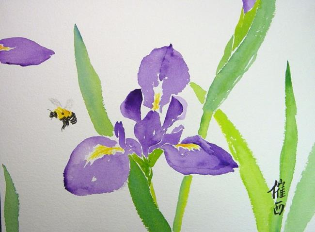 Art: Flight of the Bumblebee by Artist Tracey Allyn Greene