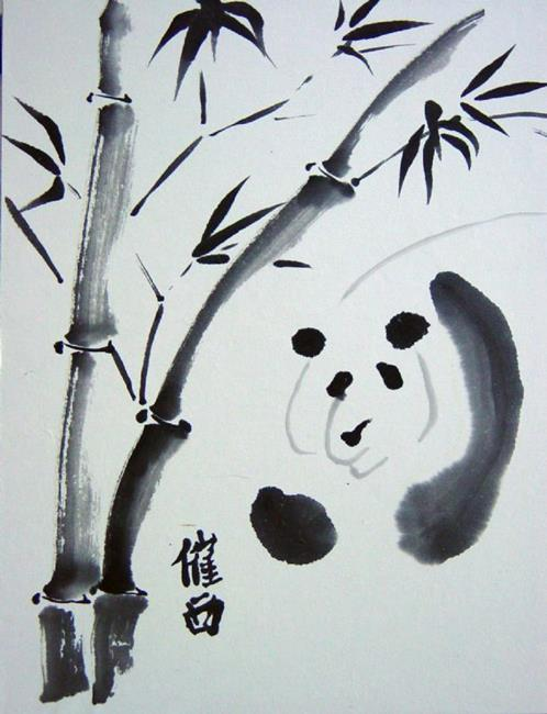 Panda and Bamboo - by Tracey Allyn Greene from chinese ...