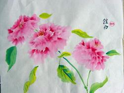 Art: Peonies 3 by Artist Tracey Allyn Greene