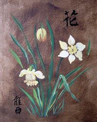 Art: Daffodils by Artist Tracey Allyn Greene
