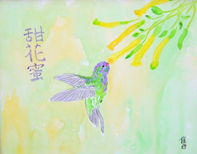 Art: Sweet Nectar by Artist Tracey Allyn Greene