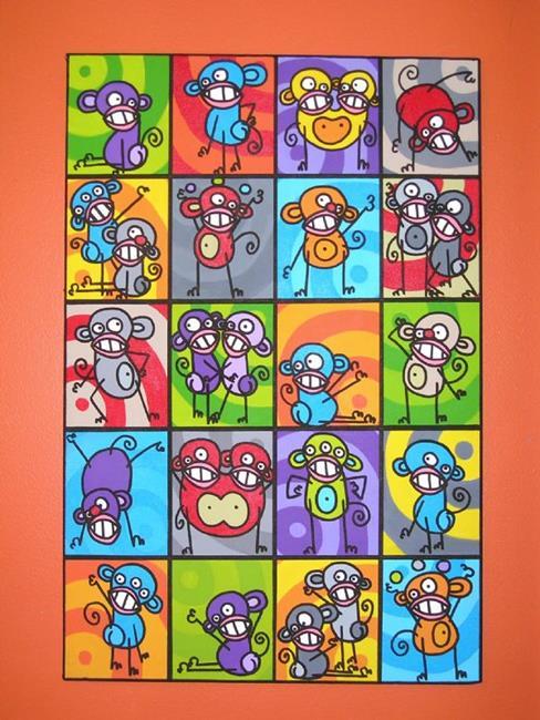 La Vie En Arts. Art La Vie En Couleurs Life In Colors By Artist ...