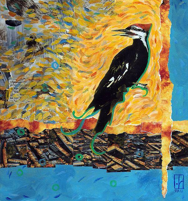 Art: Heat and Dissonance by Artist Tau