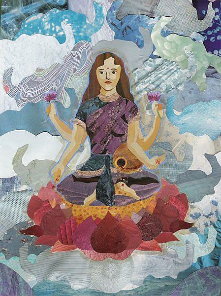 Art: Lakshmi by Artist Tau