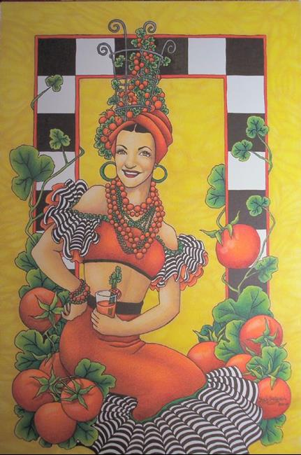 Art: Hot Tomato by Artist Shelly Bedsaul