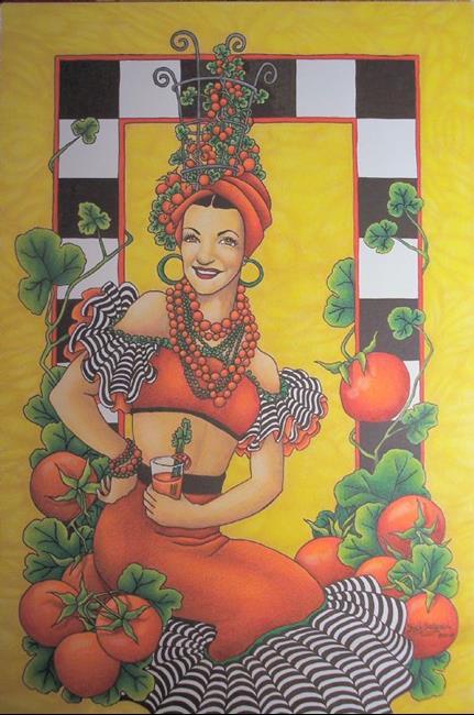 Art: Hot Tomato by Artist Shelly Bedsaul