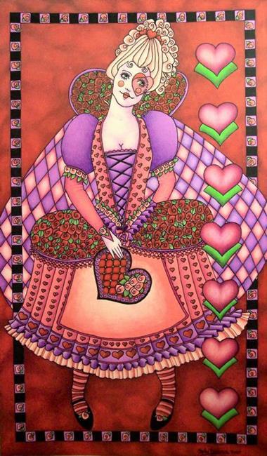 Art: Foole for Love by Artist Shelly Bedsaul