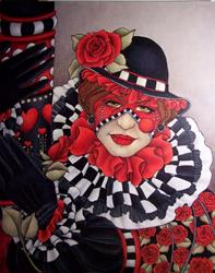Art: Come Into My Parlor by Artist Shelly Bedsaul