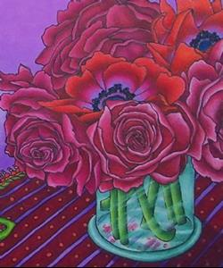 Detail Image for art Poppies & Peonies
