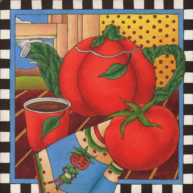 Art: Tomato, Tomahto by Artist Shelly Bedsaul