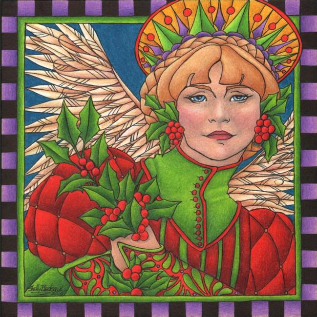 Art: Holly by Artist Shelly Bedsaul