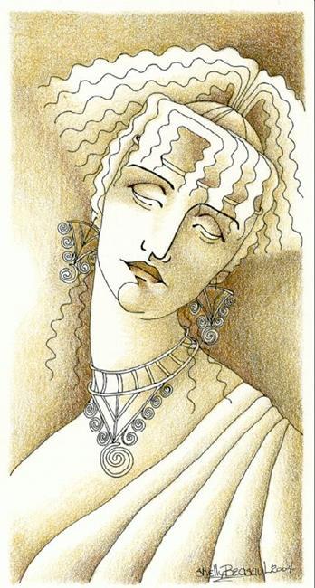 Art: Helen (sold) by Artist Shelly Bedsaul