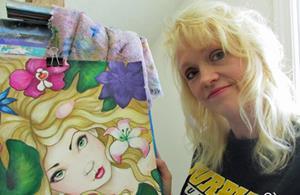Detail Image for art The Blue Fairy.jpg