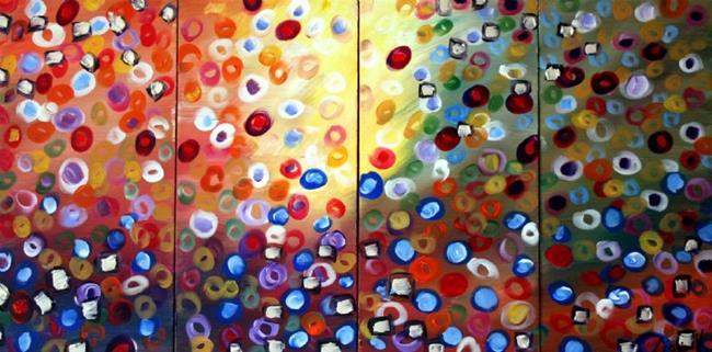 Art: Song of Seasons by Artist LUIZA VIZOLI